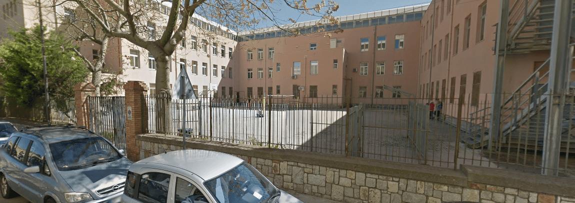 La scuola Rosario Porpora di Cefalù