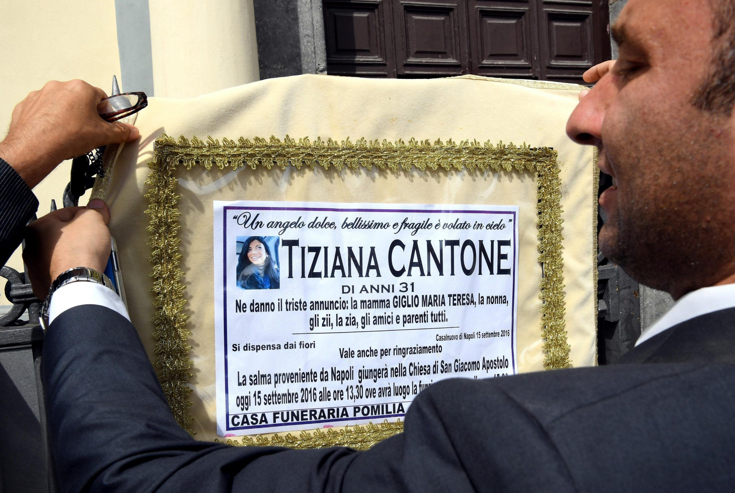 Funerali di Tiziana Cantone