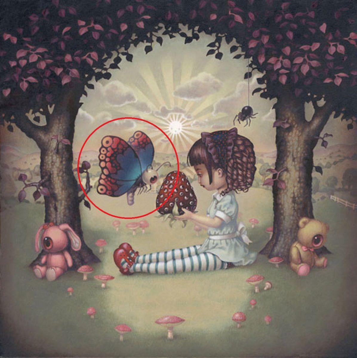 2 la farfalla