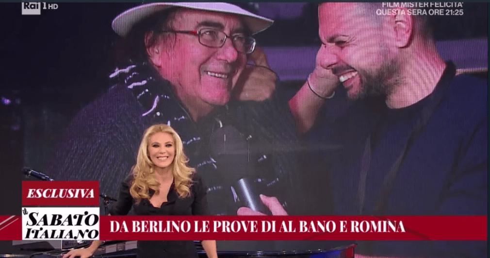 Il Sabato Italiano, Al Bano: 'Romina ha un posto d'onore in casa. Sanremo? Mi hanno maltrattato'