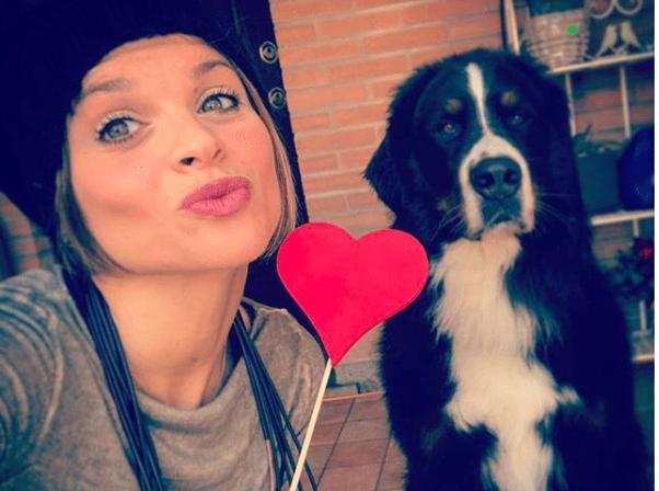 Alessandra Amoroso e il cane Buddy