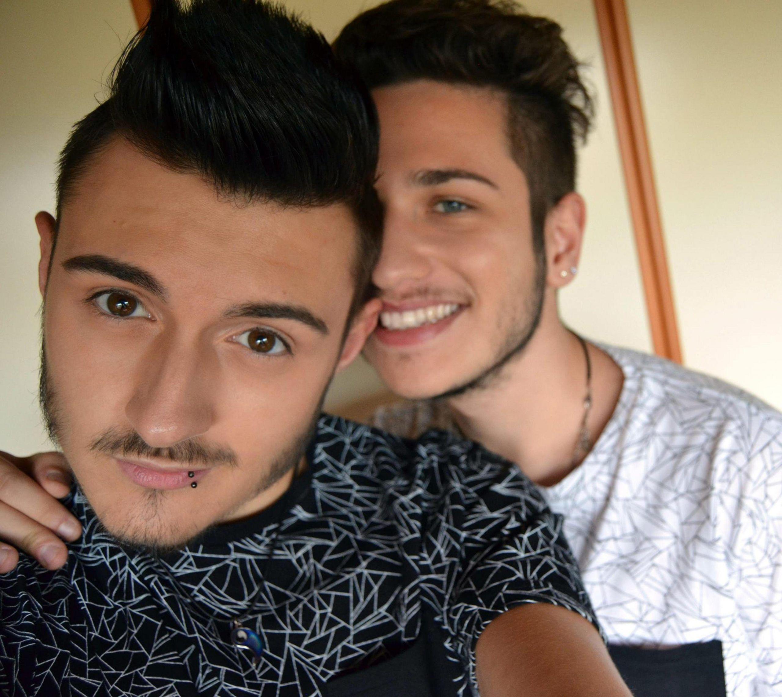 Alex Ferrari, in primo piano, con Luca Bortolotto