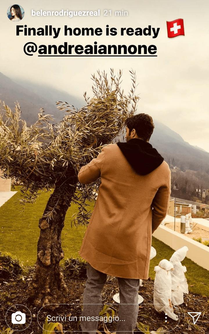 Andrea Iannone nella casa in Svizzera