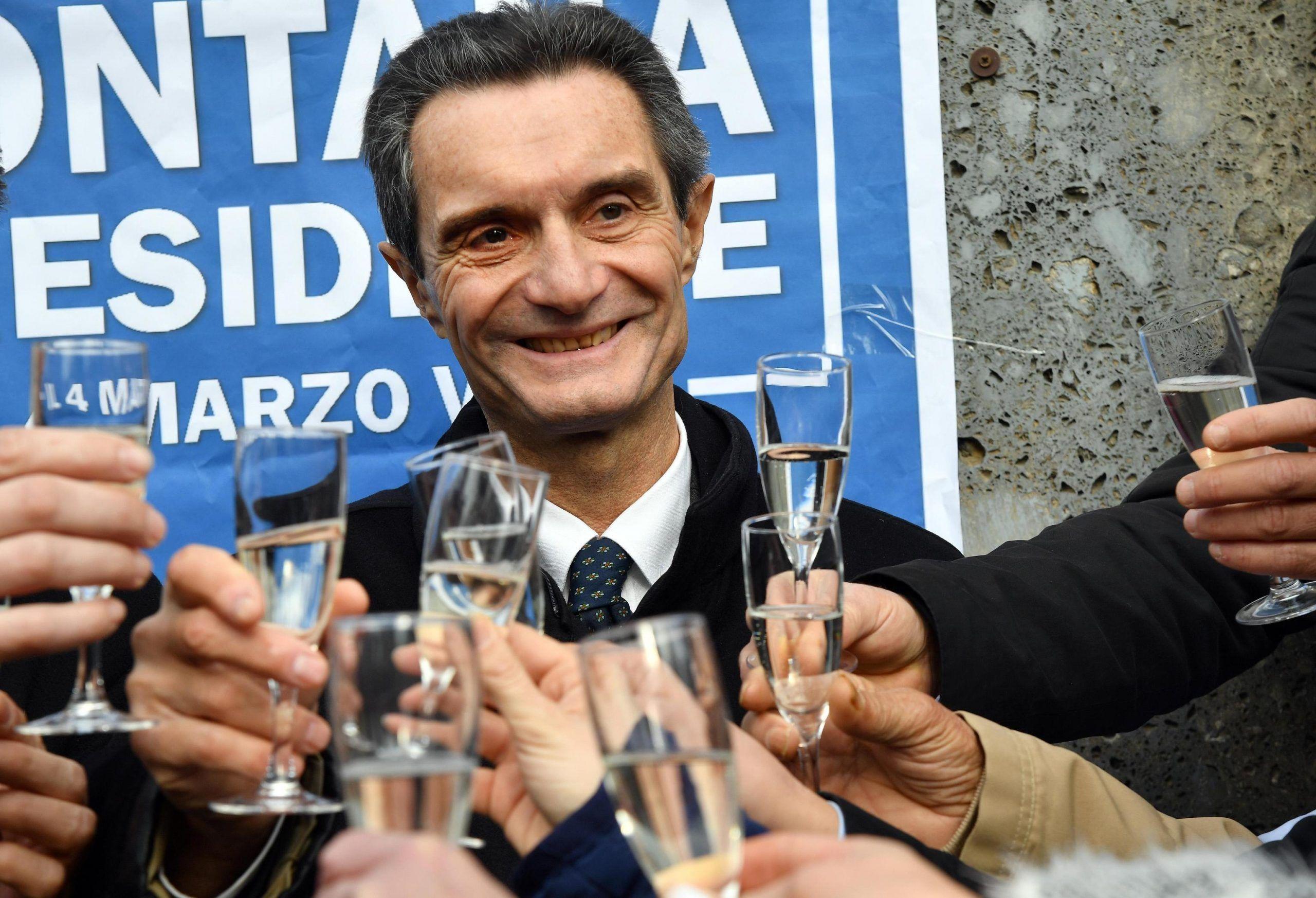 Attilio Fontana candidato regione Lombardia per il centrodestra