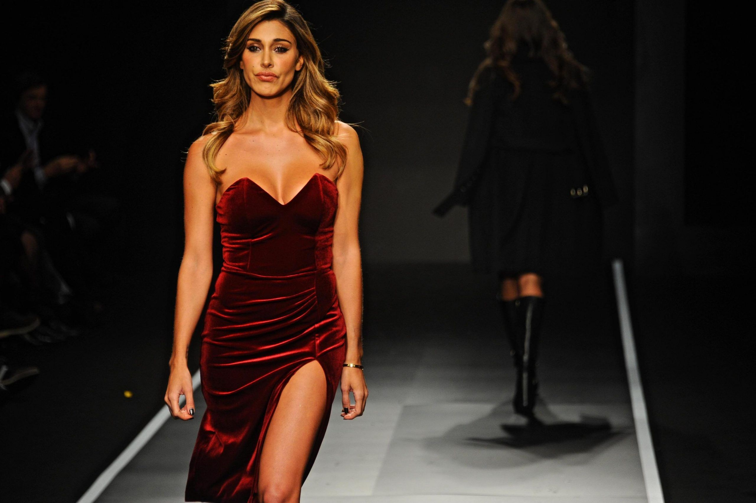 FLORENCE: PITTI: BELEN RODRIGUEZ FOR GUESS