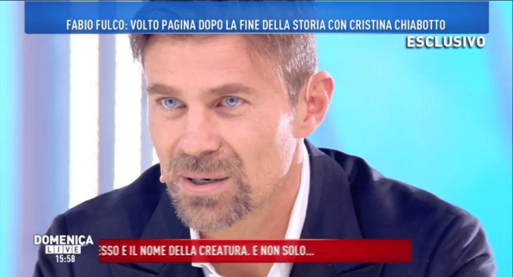 Domenica Live, Fabio Fulco: 'Con Cristina Chiabotto un sogno di 12 anni, ma tornerò ad amare'