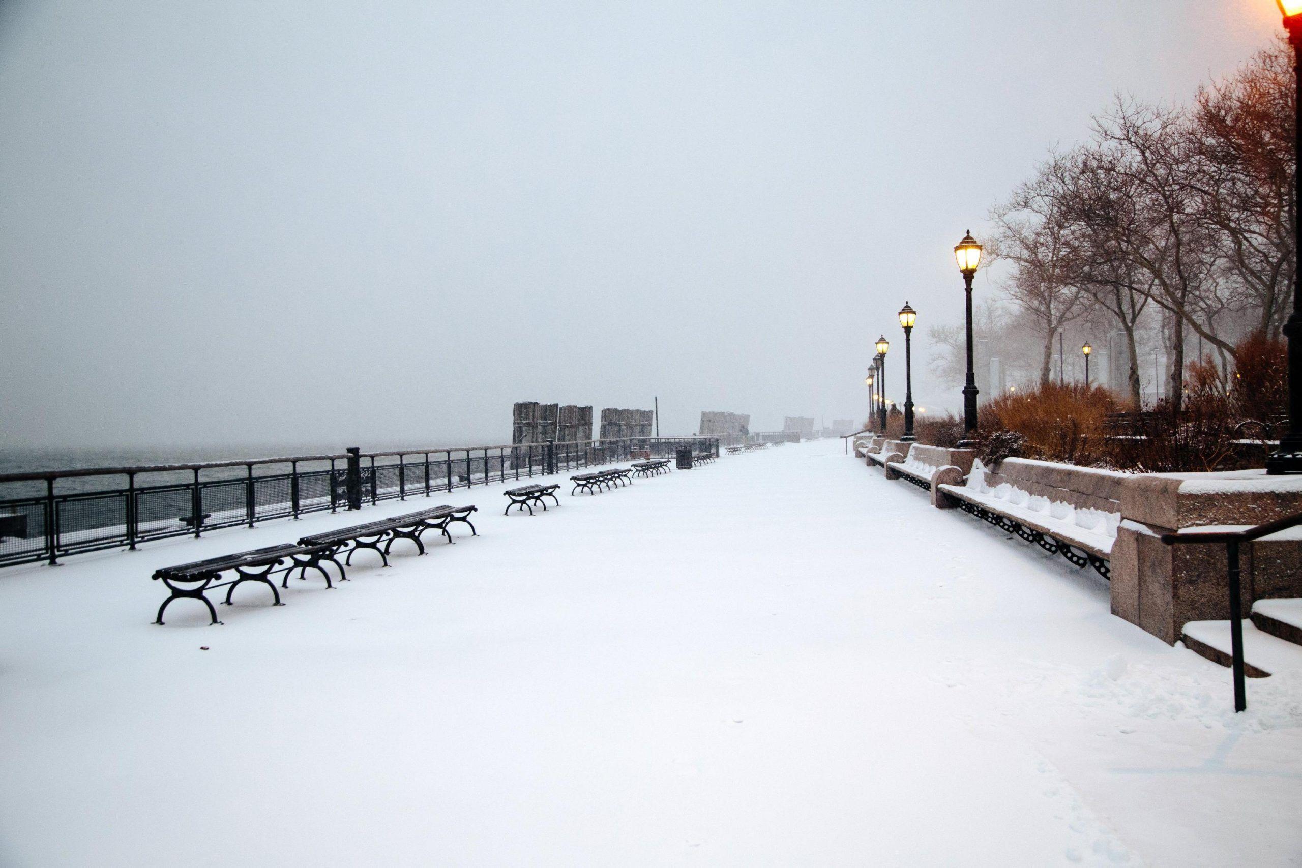 Gelo a New York