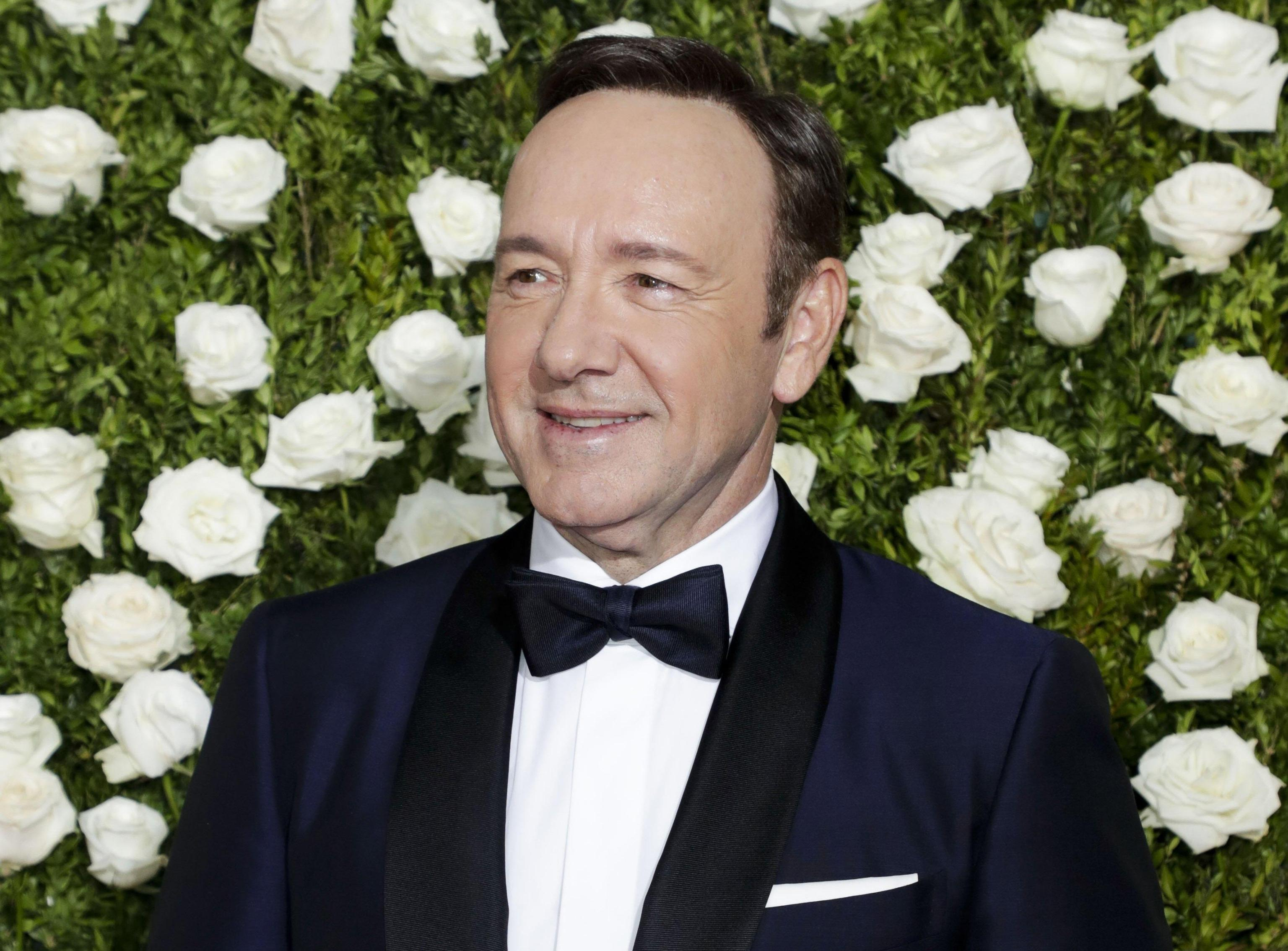 Kevin Spacey apologizes to actor for alleged 'sexual advance'