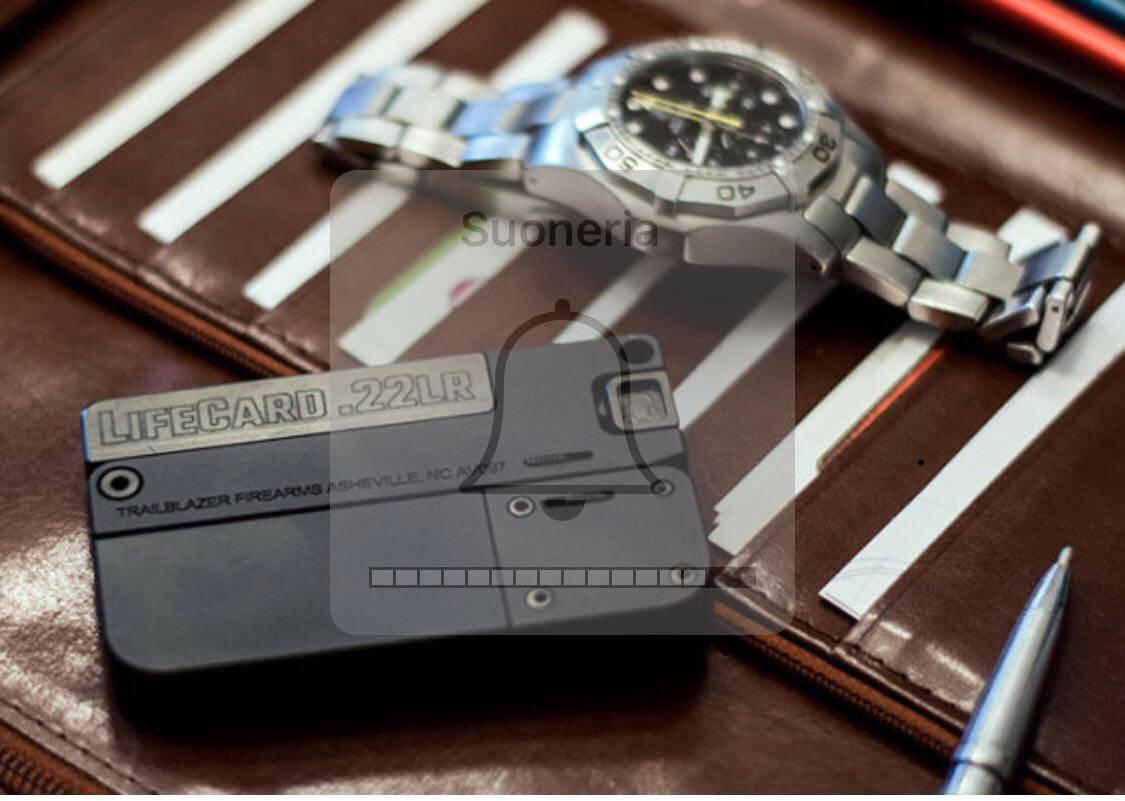 Circolare Ps,gira pistola grande come carta di credito