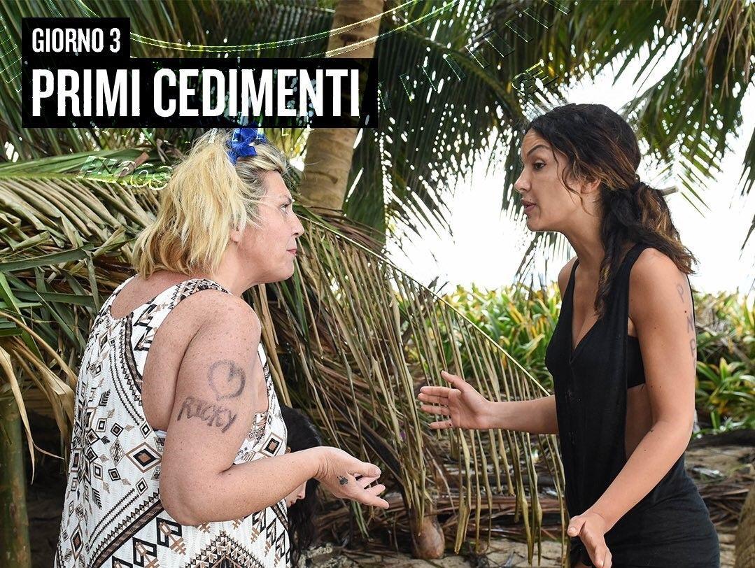 L'Isola 13, lite tra Rosa Perrotta e Nadia Rinaldi: colpa di un cocco