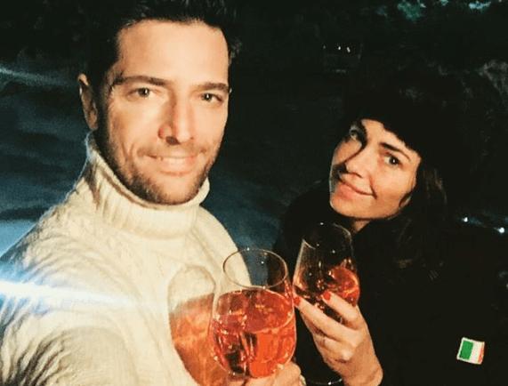 Luca Capuano e la moglie Carlotta Lo Greco