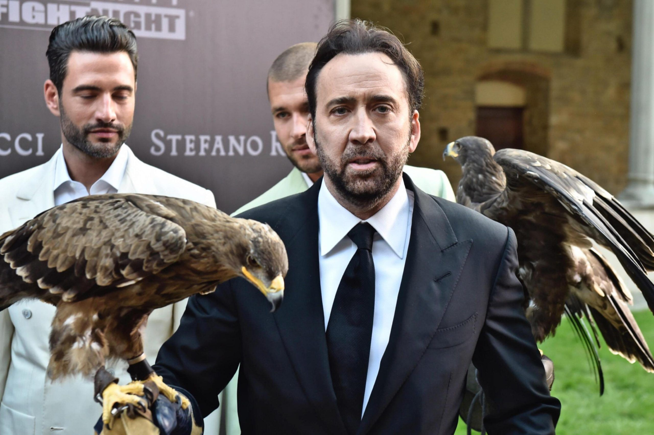 Nicolas Cage in Florence