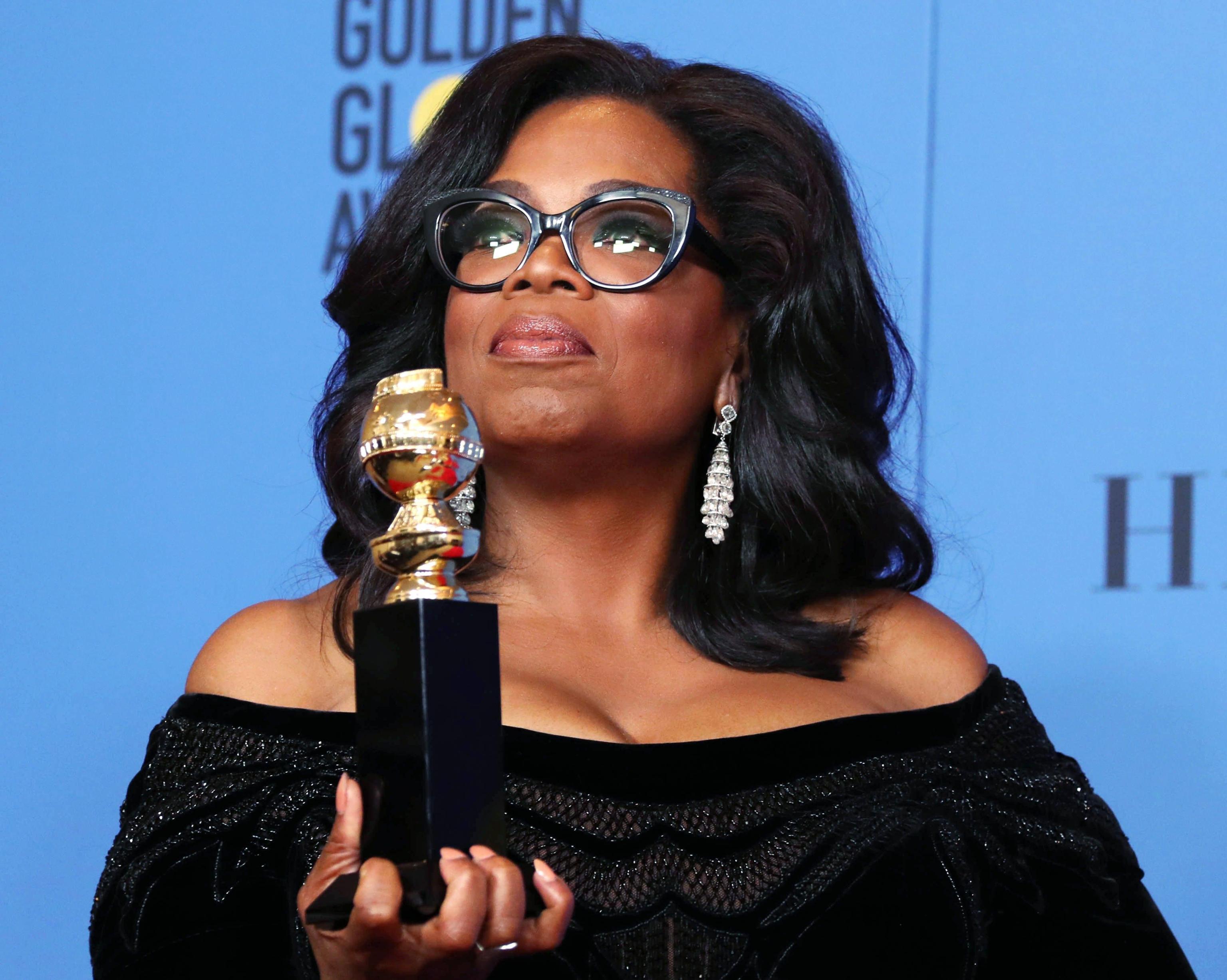 Oprah Winfrey, il discorso ai Golden Globes 2018: 'Il tempo dei predatori sessuali è finito'