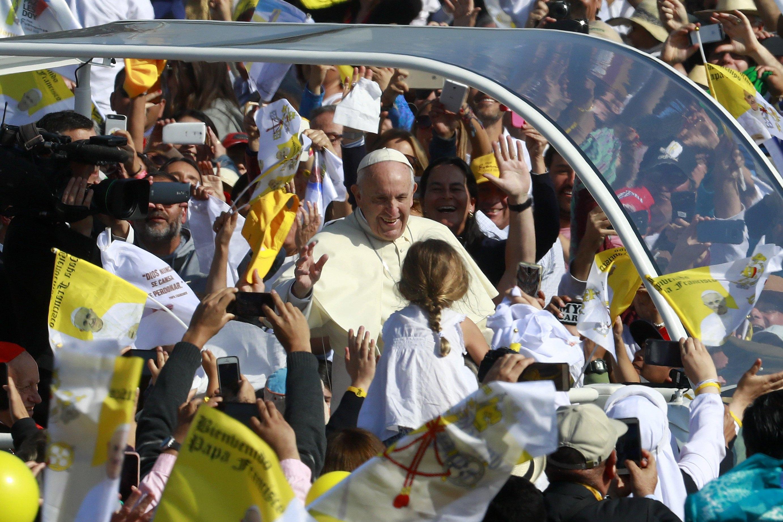 Papa Francesco in Cile: «Ho paura della guerra nucleare»