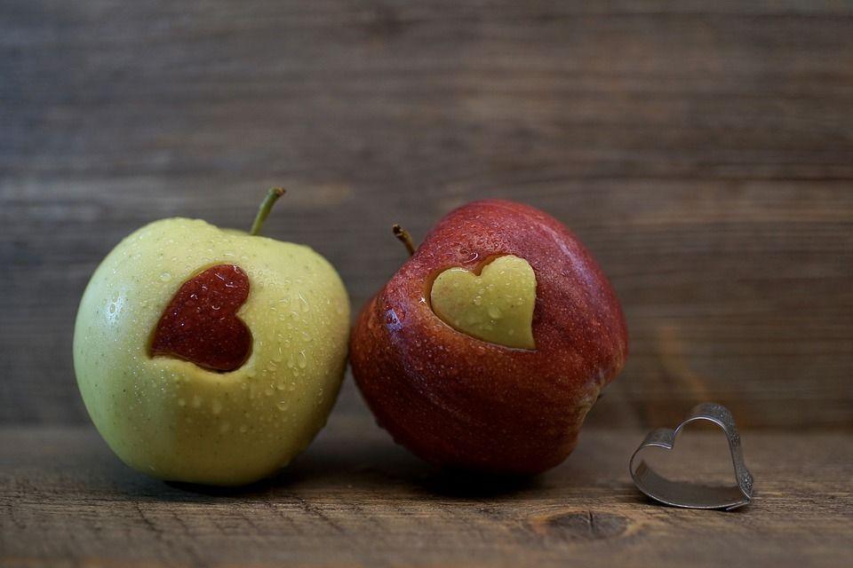 San Valentino la meta della mela