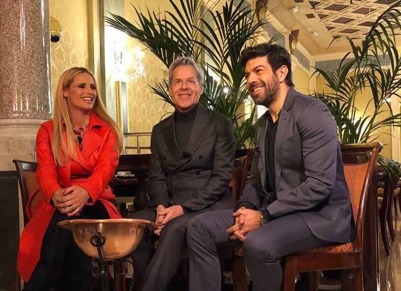 Sanremo 2018, conduttori: Claudio Baglioni, Michelle Hunziker e Pierfrancesco Favino