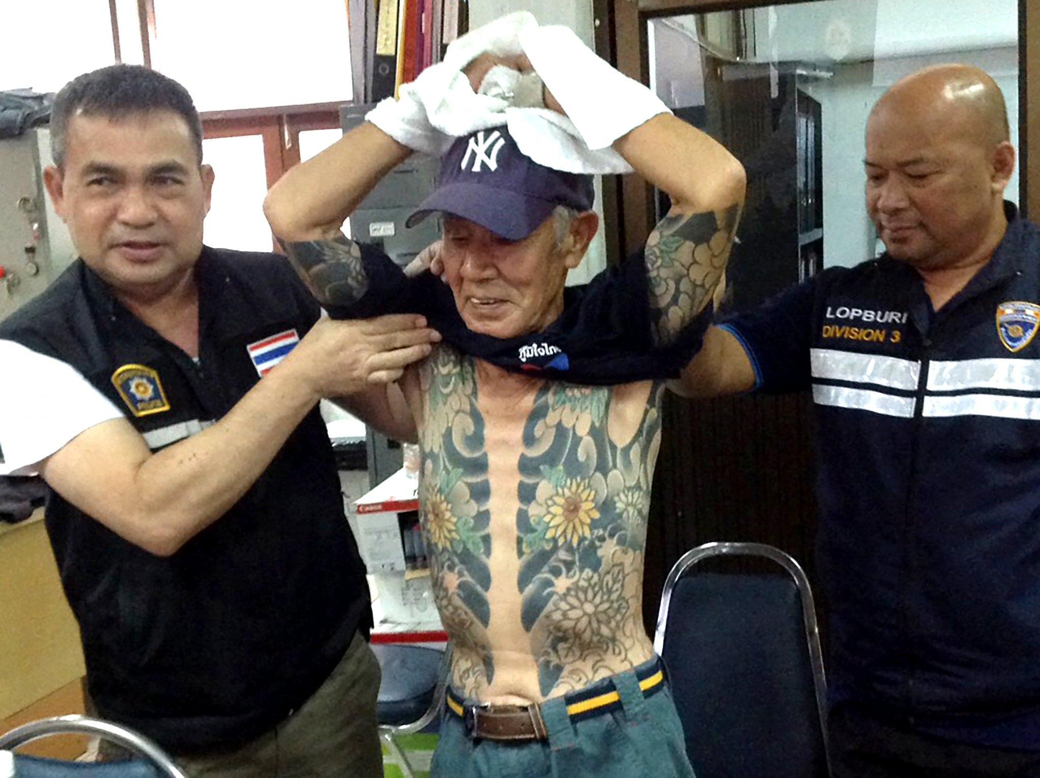 Thai police arrest former yakuza gang leader Shigeharu Shirai