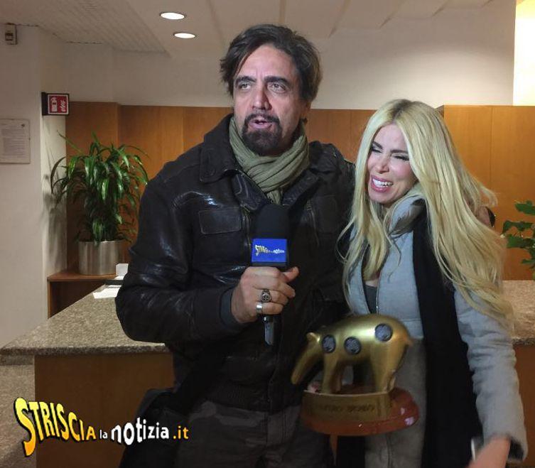 Tapiro d'oro a Loredana Lecciso: 'Al Bano? Gli voglio bene'