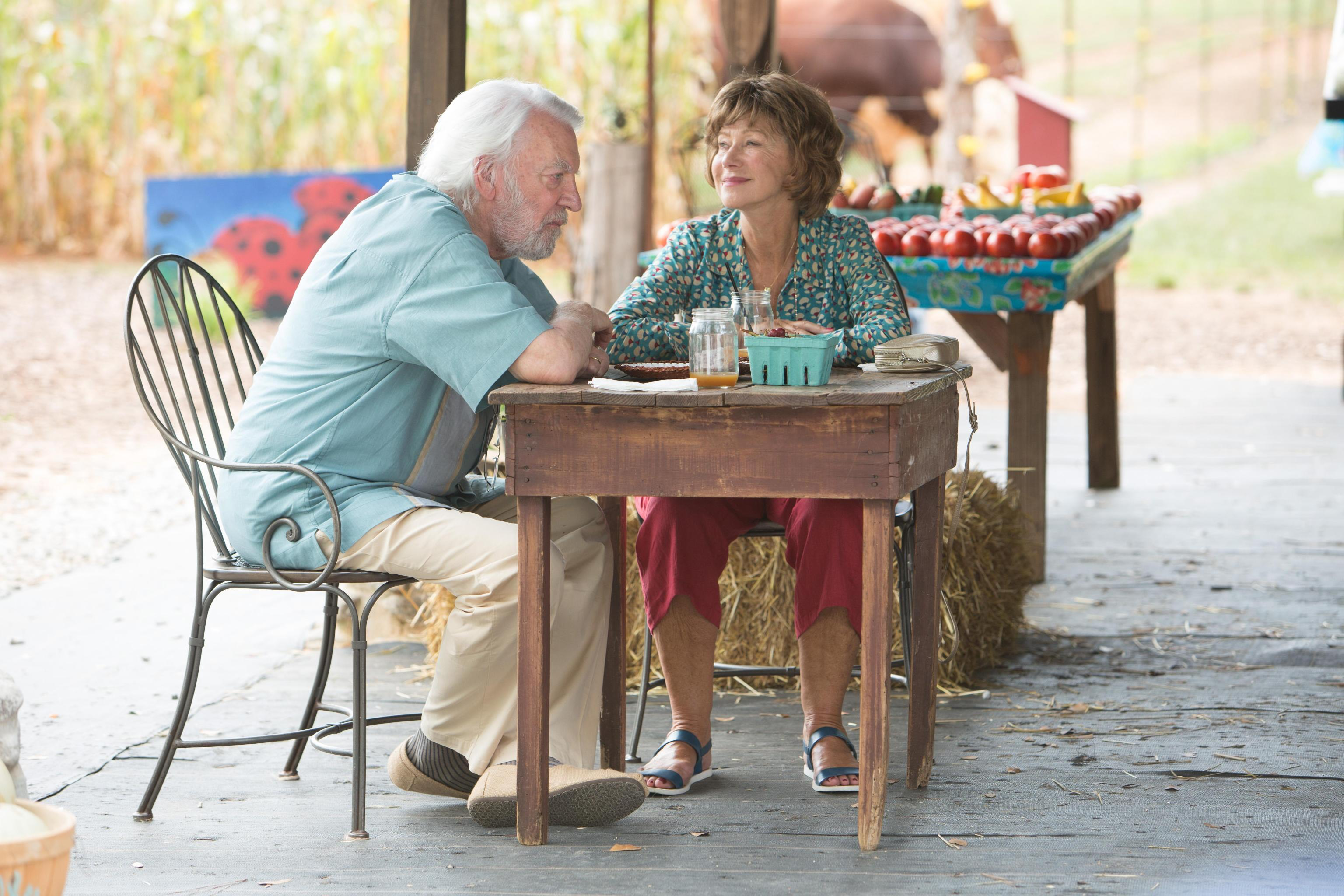 Una foto di scena del film 'Ella e John - The Leisure Seeker'