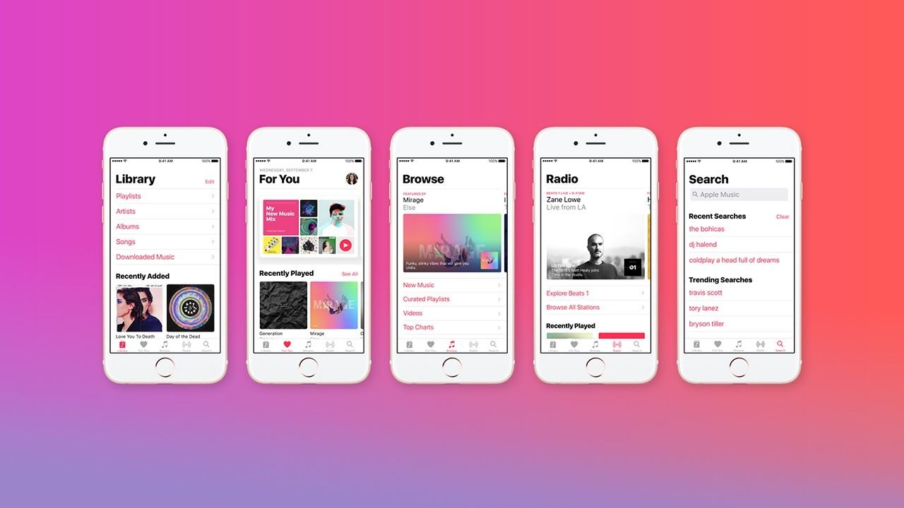 app per ascoltare musica
