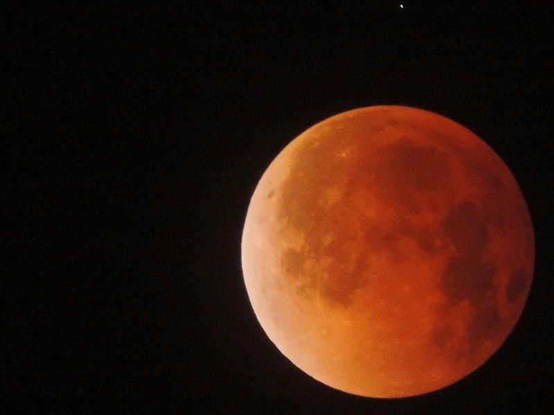 eventi astronomici gennaio 2018 luna rossa