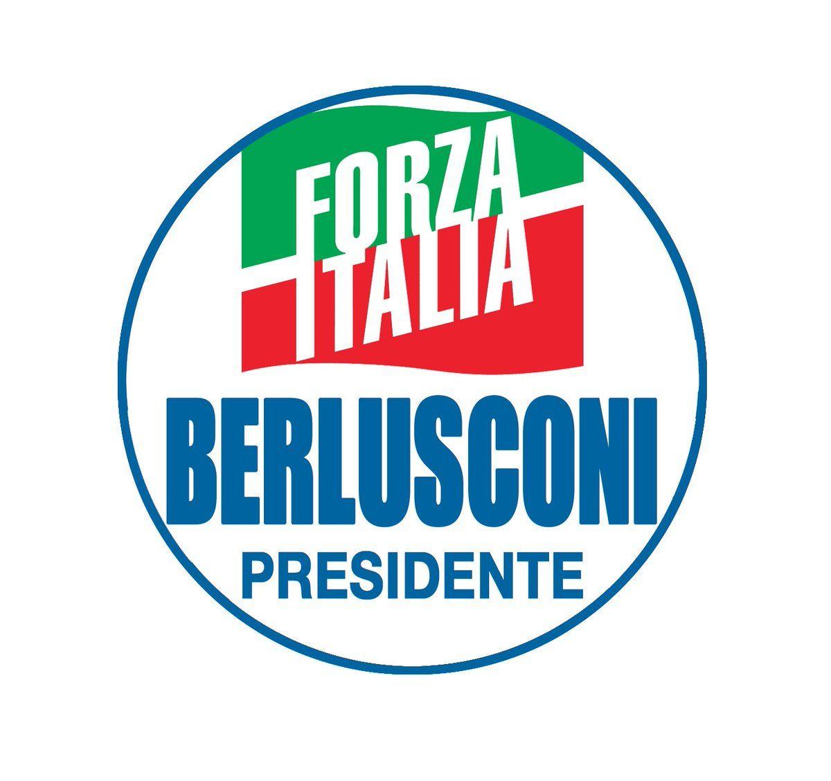 logo forza italia 2018