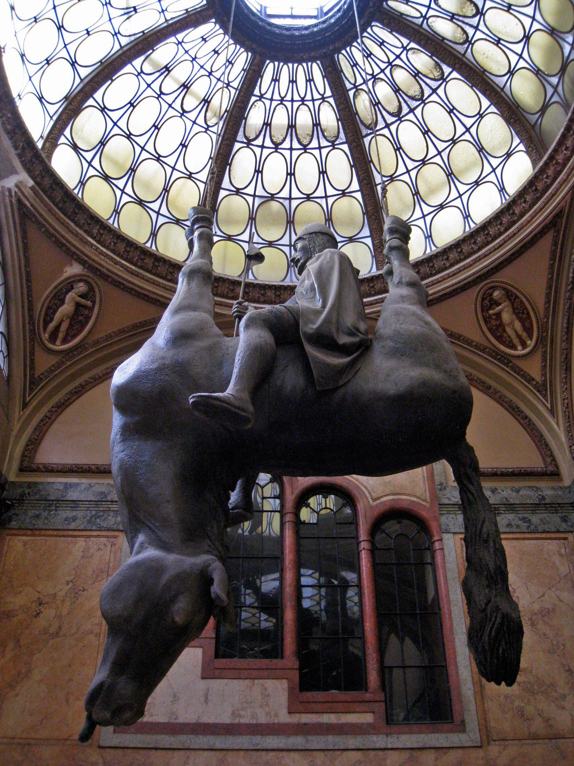 opere d'arte più strane cavallo cerny