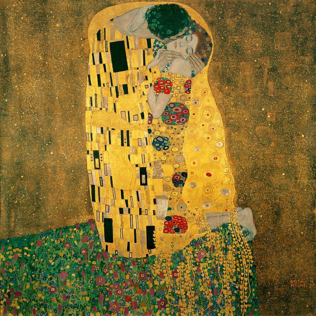 quadri più famosi del mondo il bacio klimt
