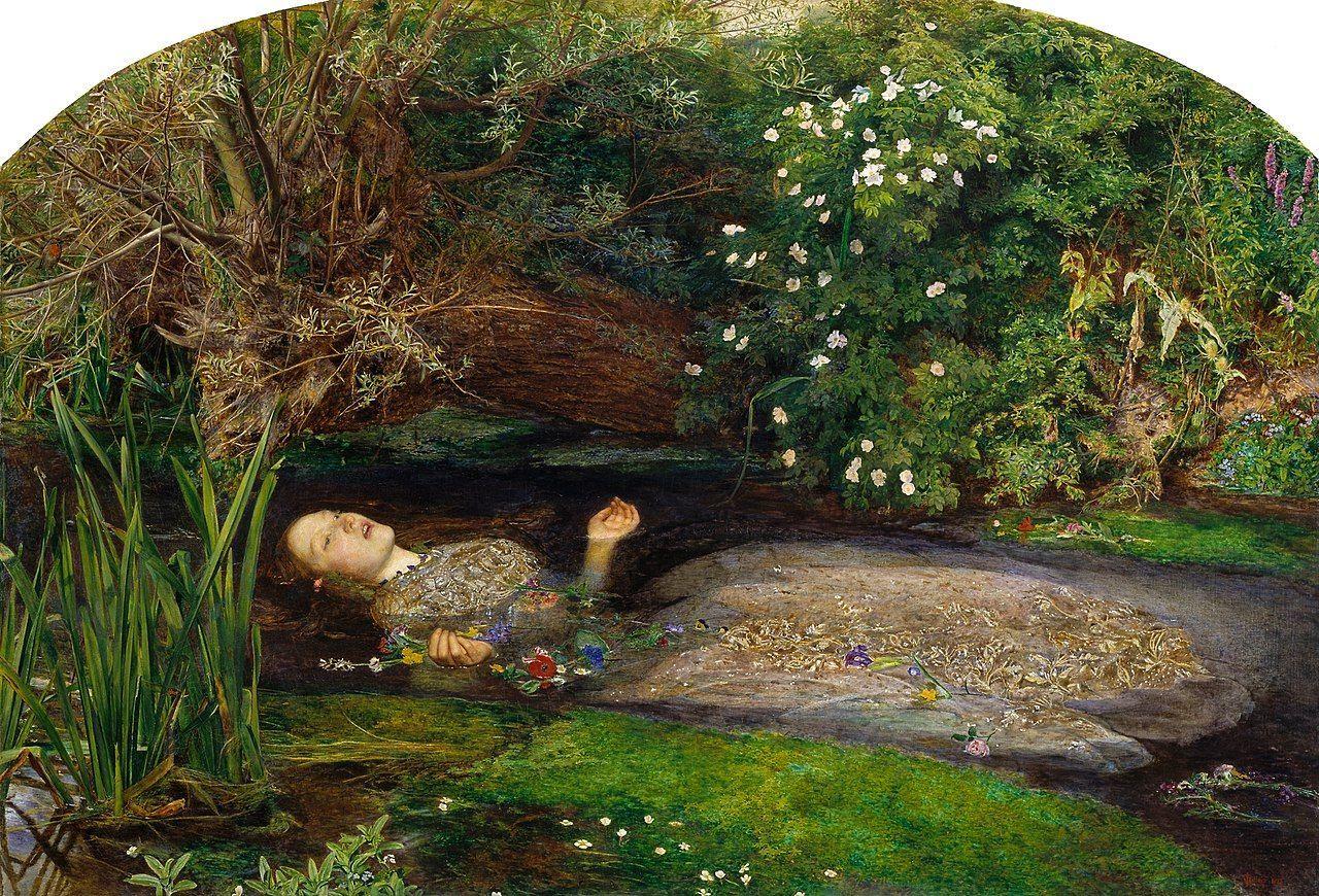 quadri più famosi del mondo ophelia millais