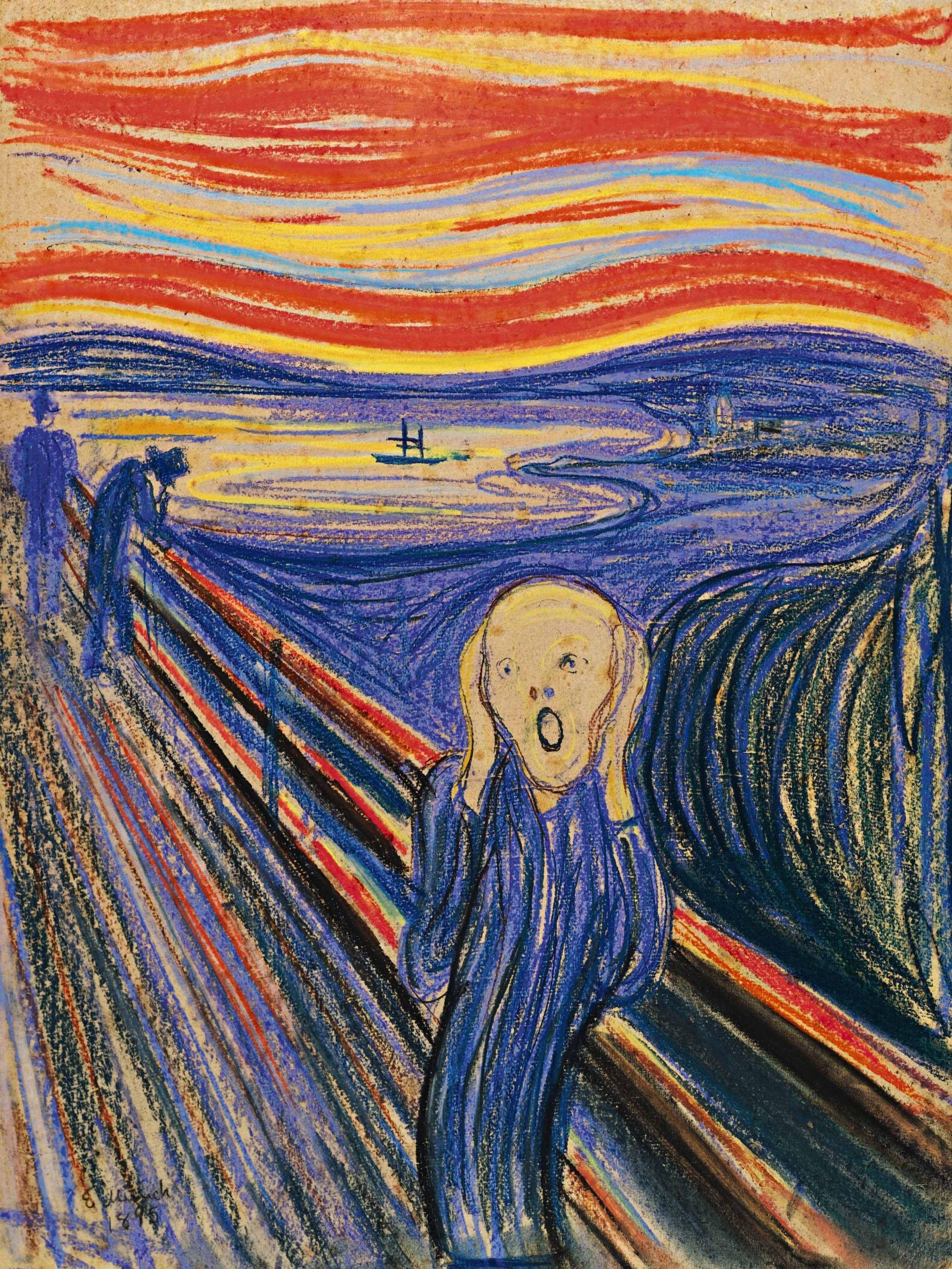 quadri più famosi del mondo urlo di munch