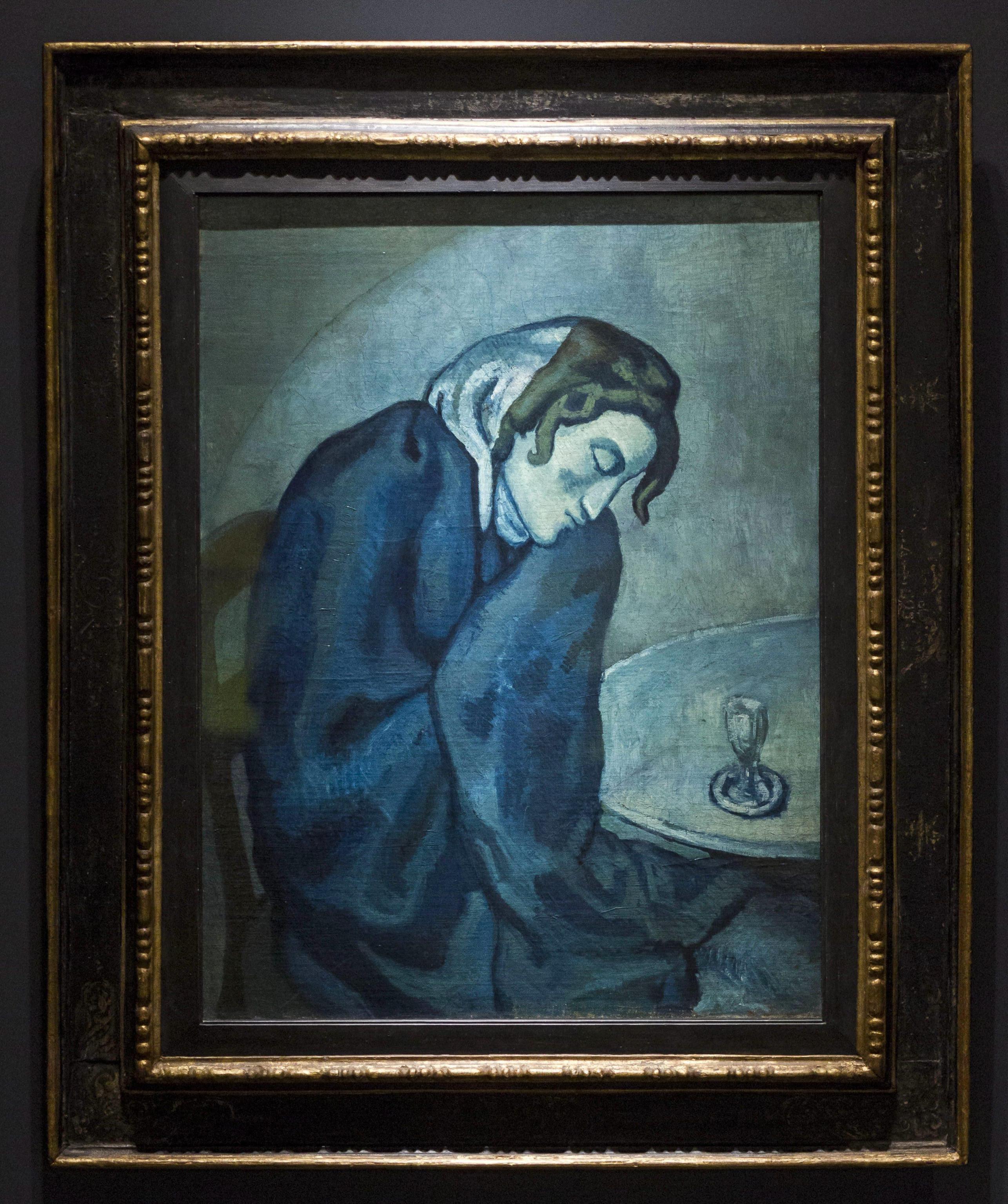 quadri più famosi di picasso Drunk woman is tired