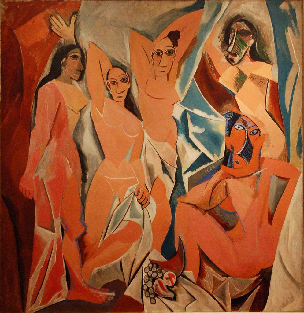 quadri più famosi di picasso Les demoiselles d'Avignon