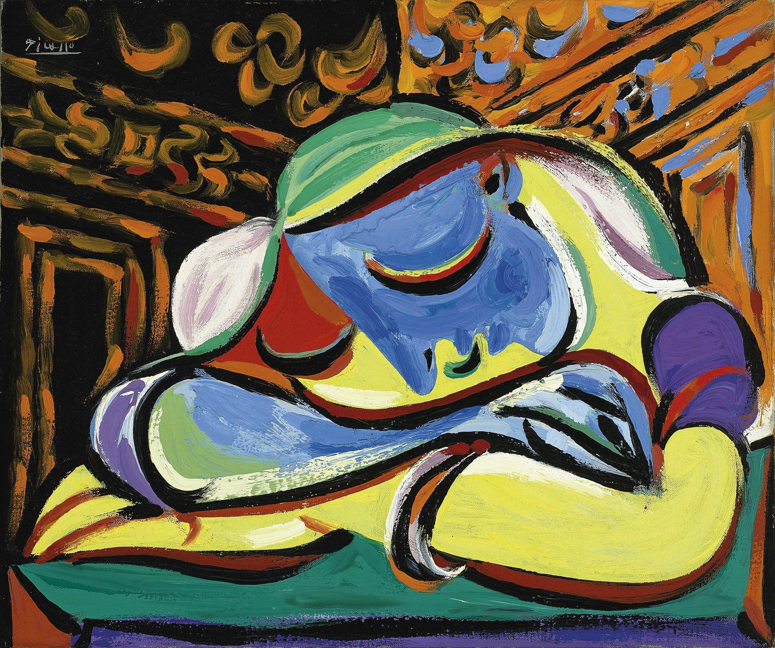 quadri più famosi picasso fanciulla che dorme