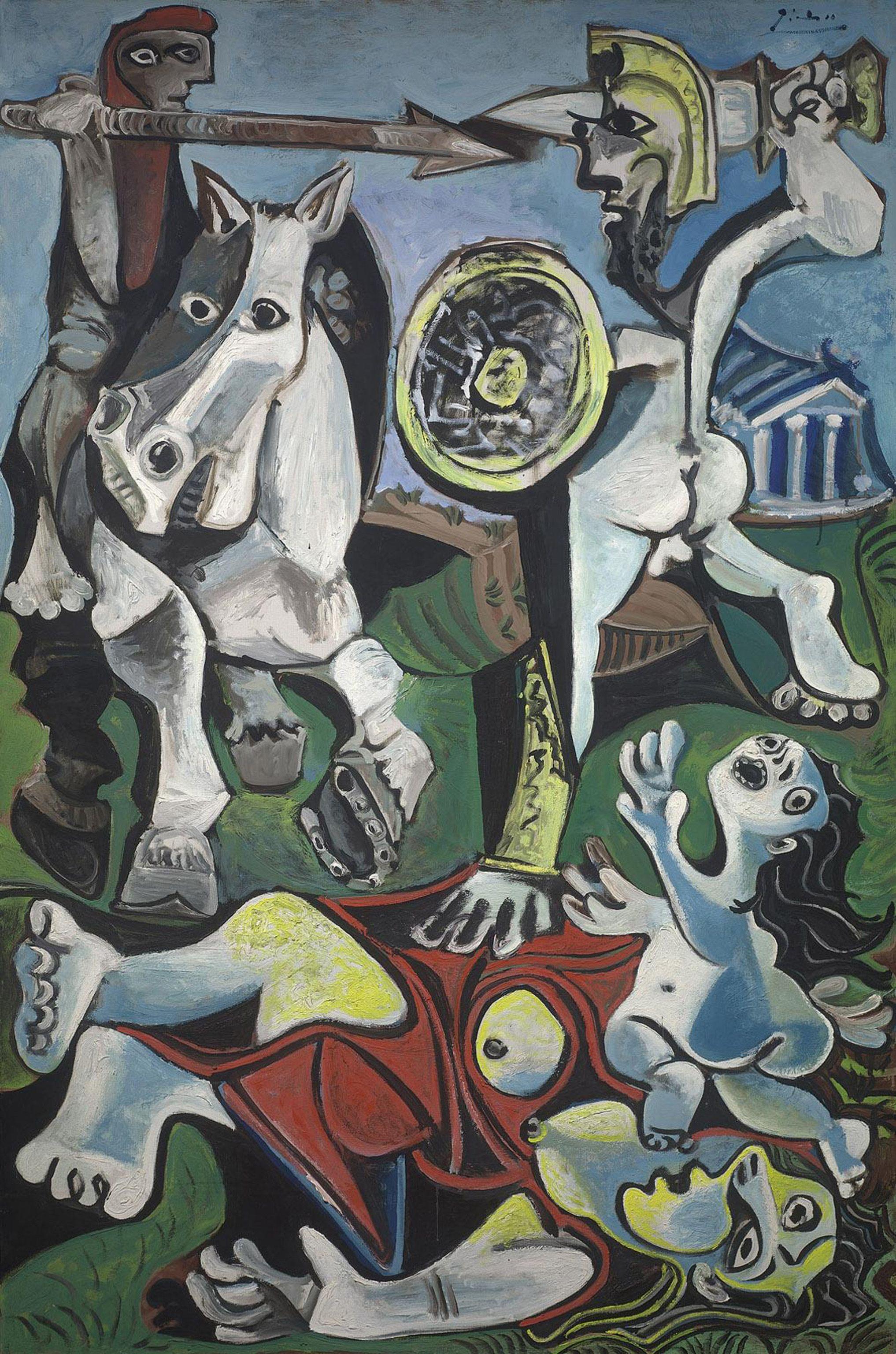 quadri più famosi di picasso il ratto delle sabine
