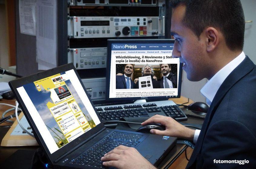 Il Movimento 5 Stelle copia da Nanopress.it: il buon giornalismo può dettare l'agenda alla politica