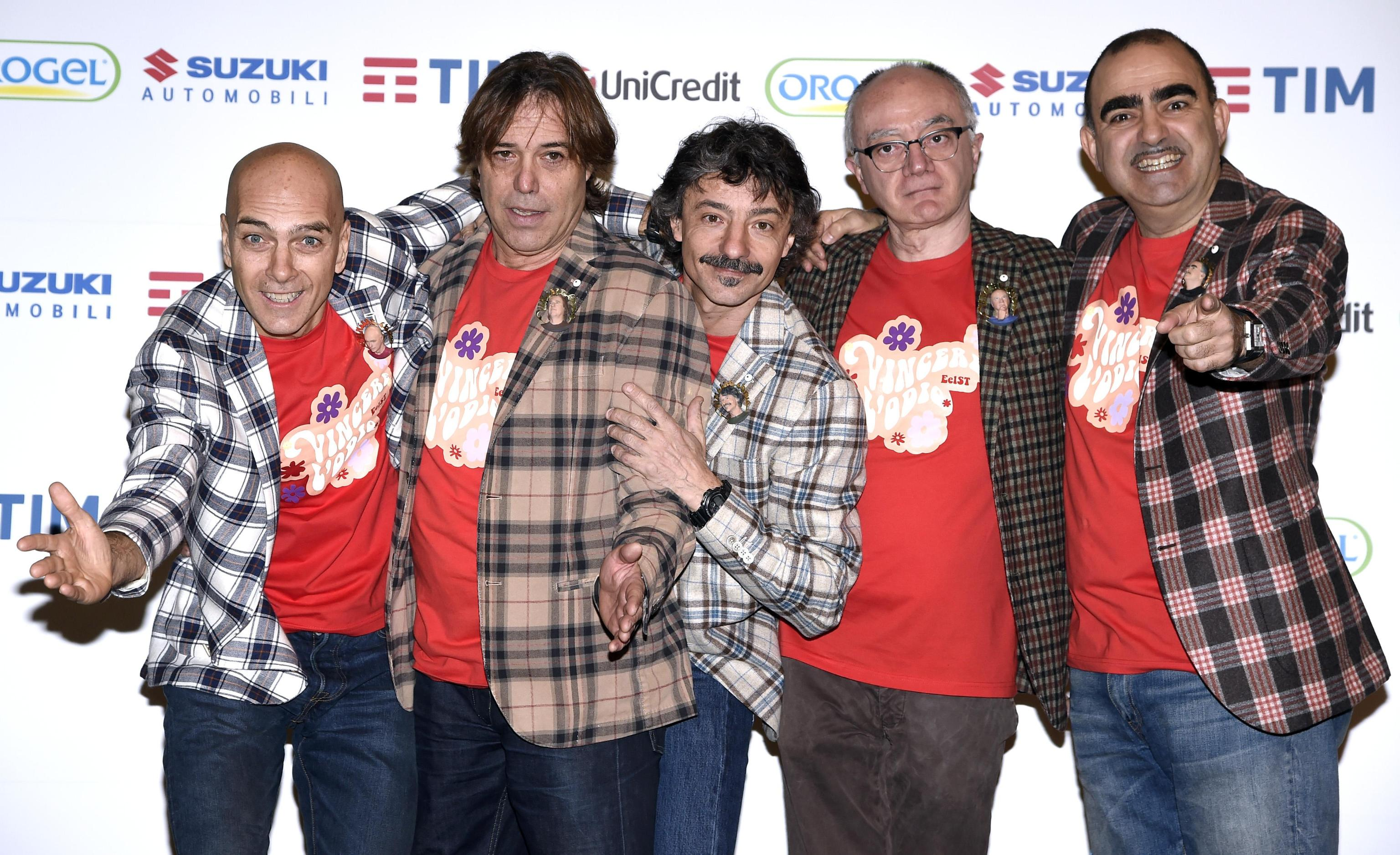 Elio e Le Storie Tese al Festival di Sanremo 2018 con 'Arrivedorci', testo della canzone