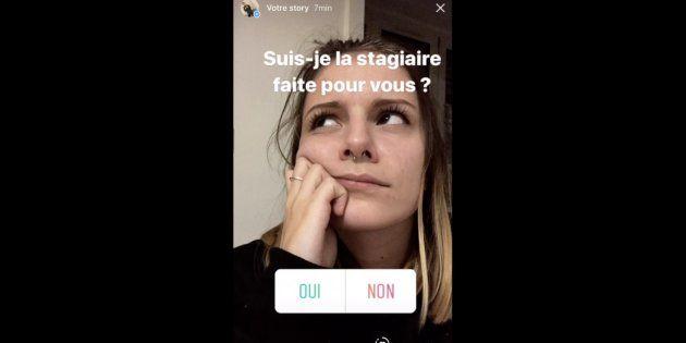 Storie di Instagram per trovare lavoro: il video curriculum di Anaëlle