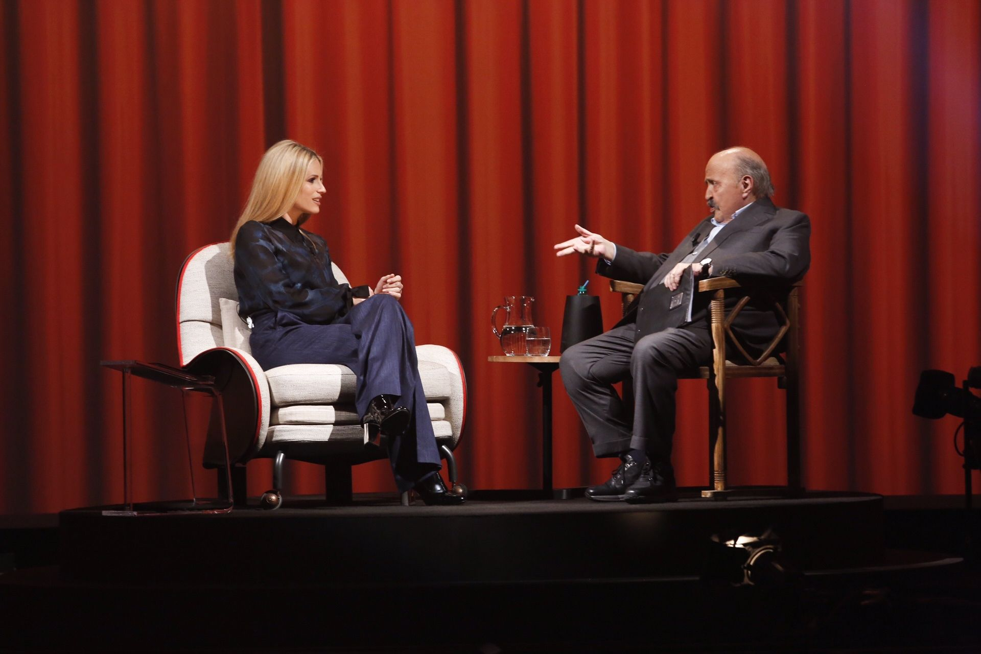 Michelle Hunziker ospite de L'Intervista