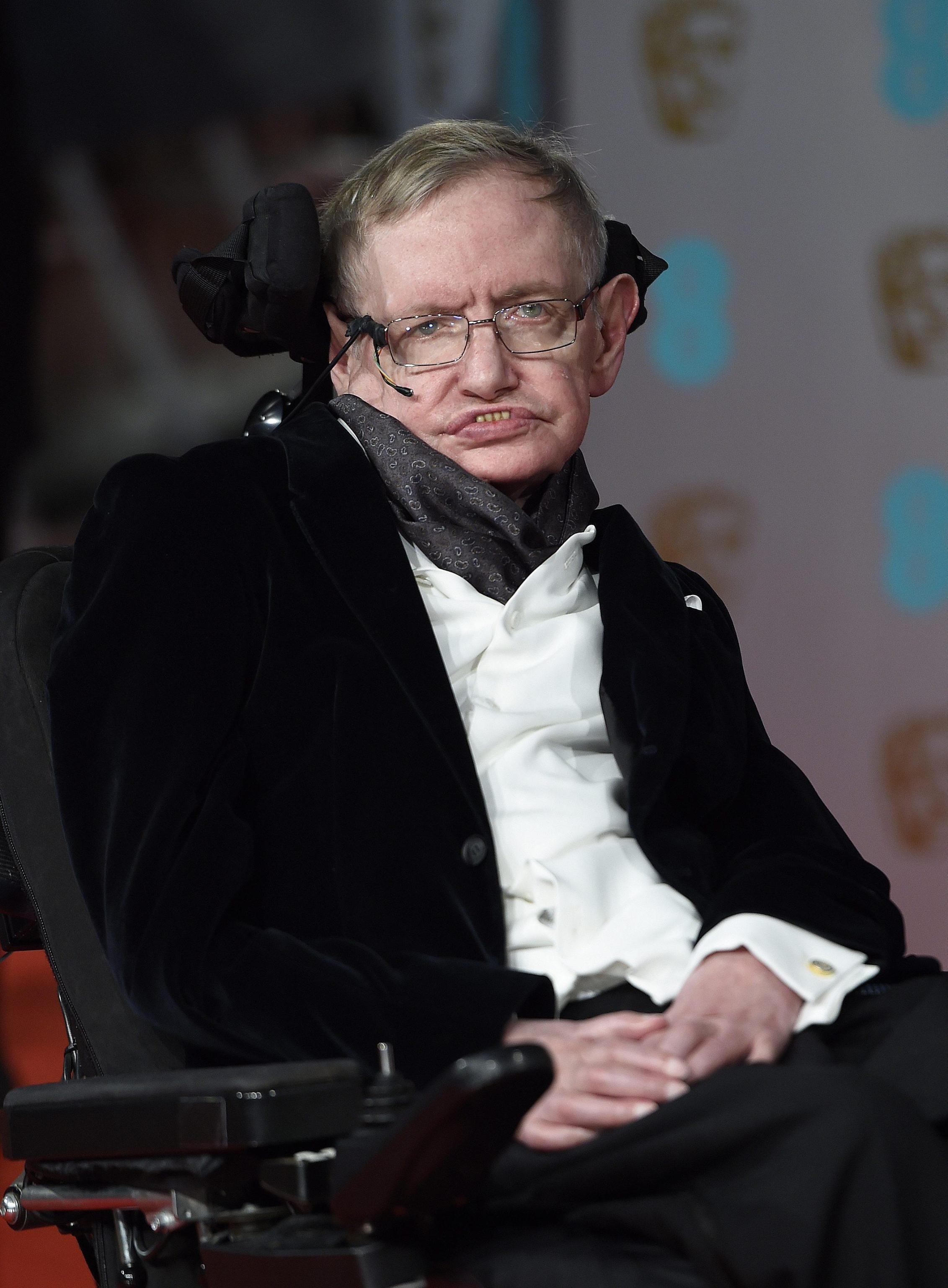 Stephen Hawking, astrofisico