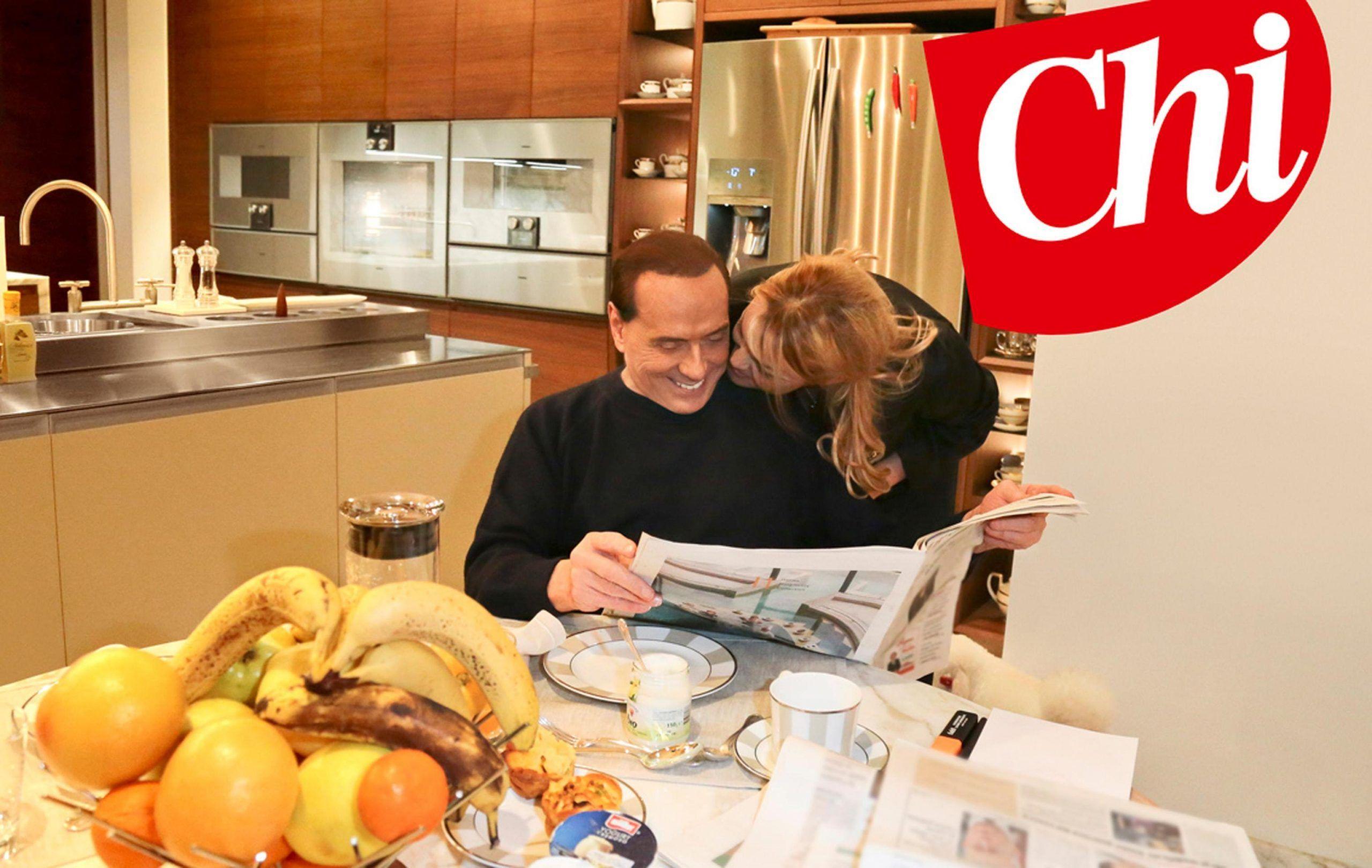 Berlusconi a Chi parla di Francesca Pascale: 'La sua dolcezza mi compensa dalle fatiche'