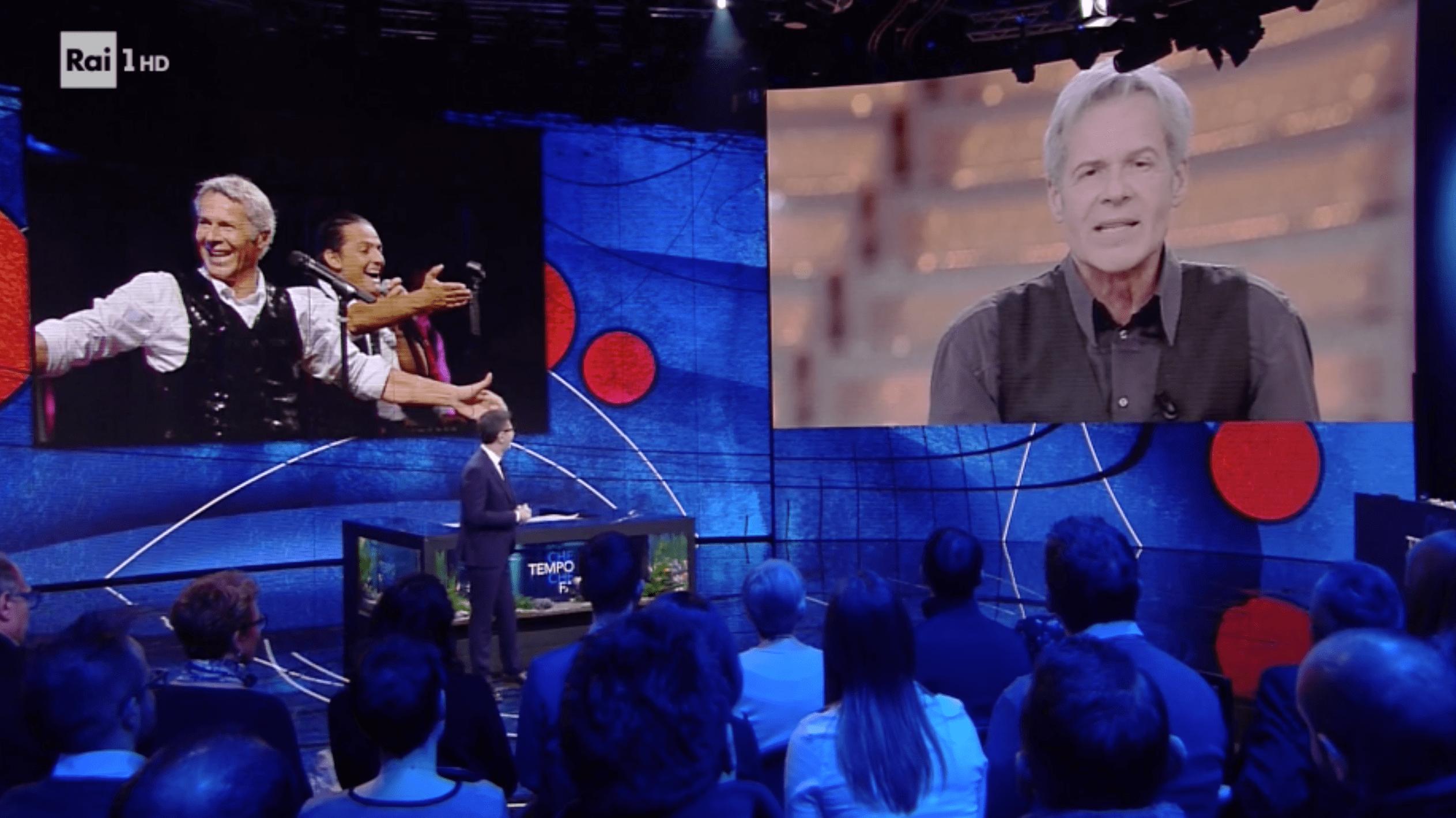 Sanremo 2018, Claudio Baglioni a Fabio Fazio: 'Mi fai venire l'ansia'