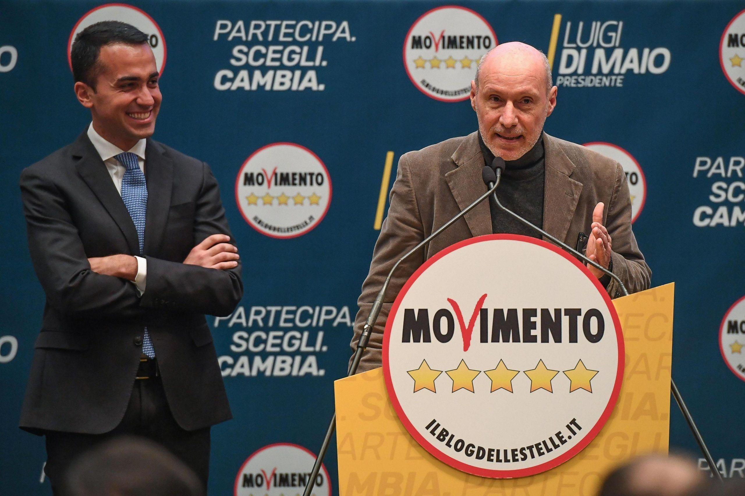 De Falco, candidato 5Stelle, con Luigi Di Maio