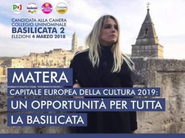 Francesca Barra e l'errore grammaticale sul manifesto elettorale