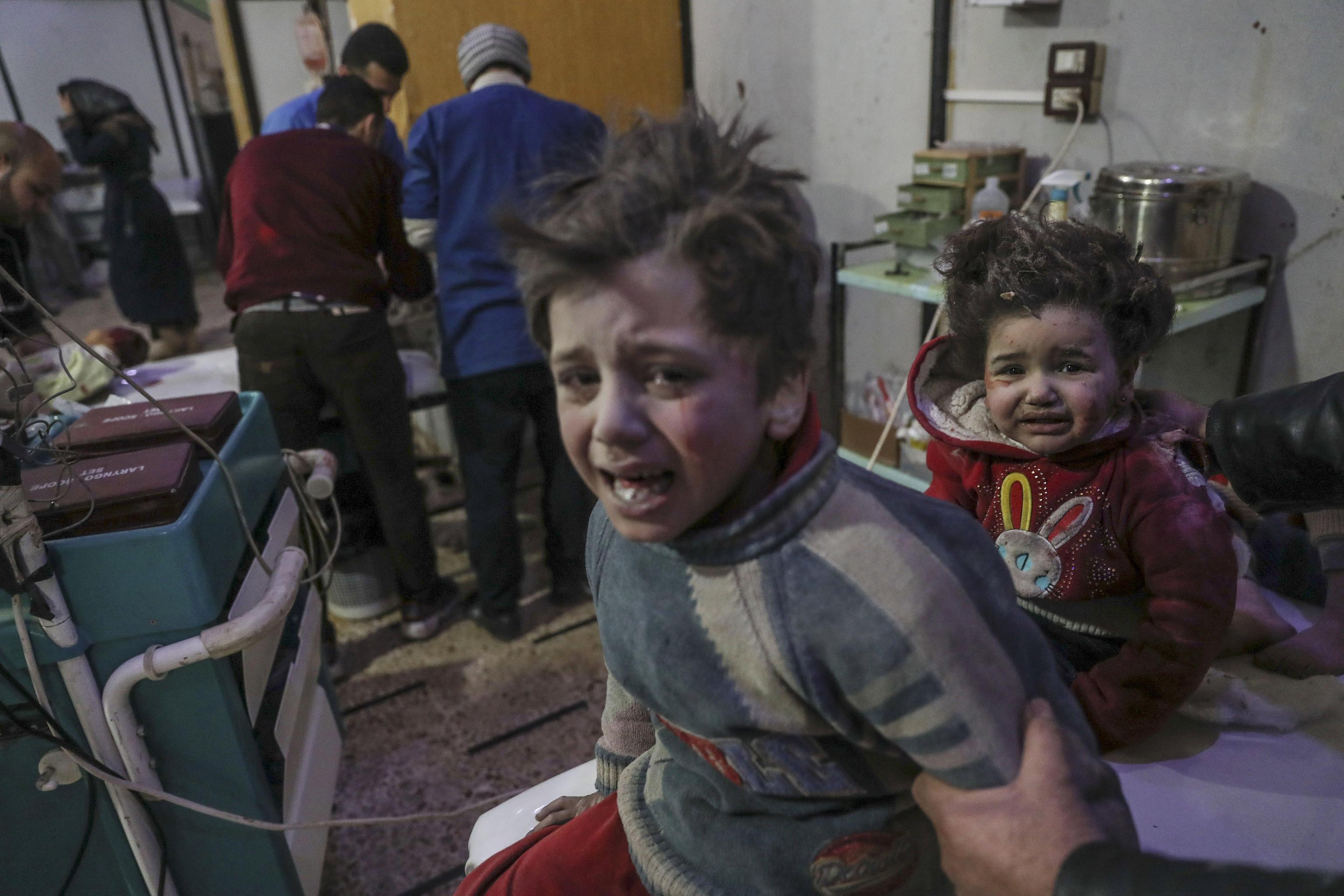 Siria, strage di bambini a Ghouta orientale: 250 morti in due giorni, 60 sono bimbi