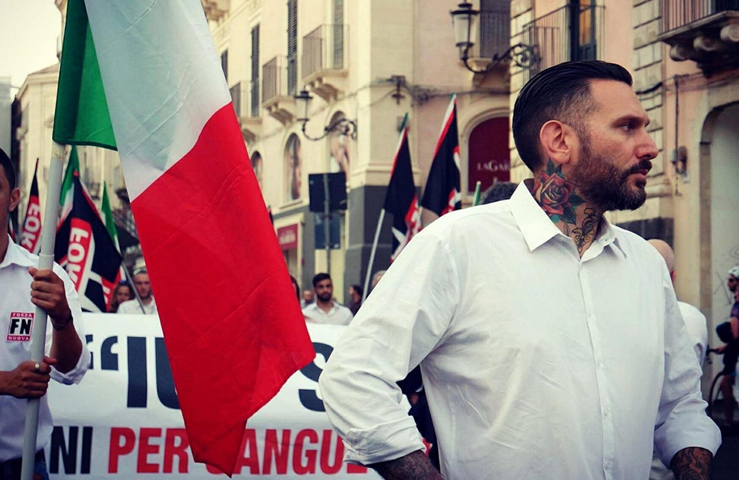 Militante di Forza Nuova picchiato e legato mani e piedi a Palermo: 2 fermati