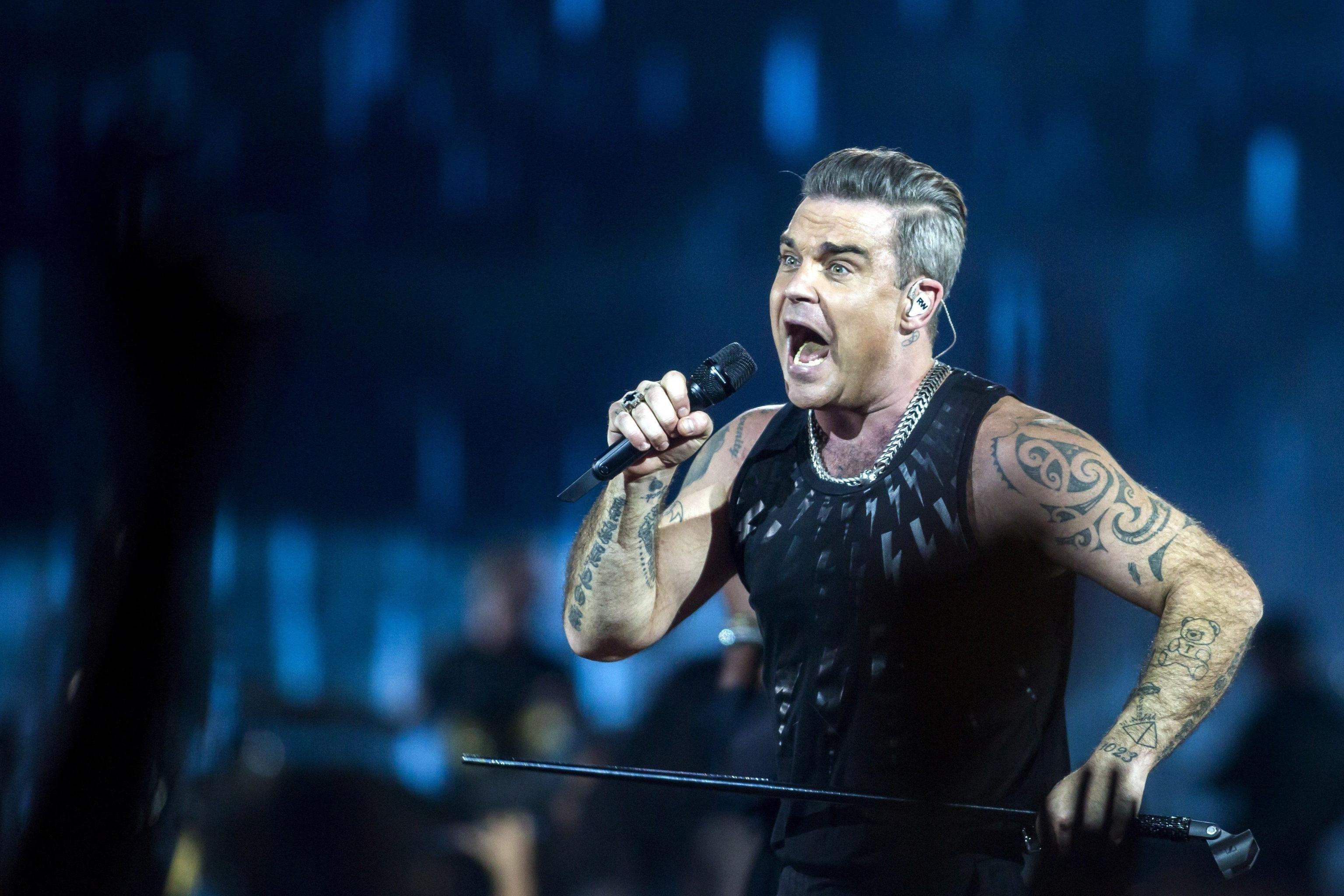 Robbie Williams: 'Ho una malattia mentale che potrebbe uccidermi'