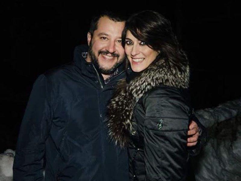 Elisa Isoardi Matteo Salvini Sanremo 2018