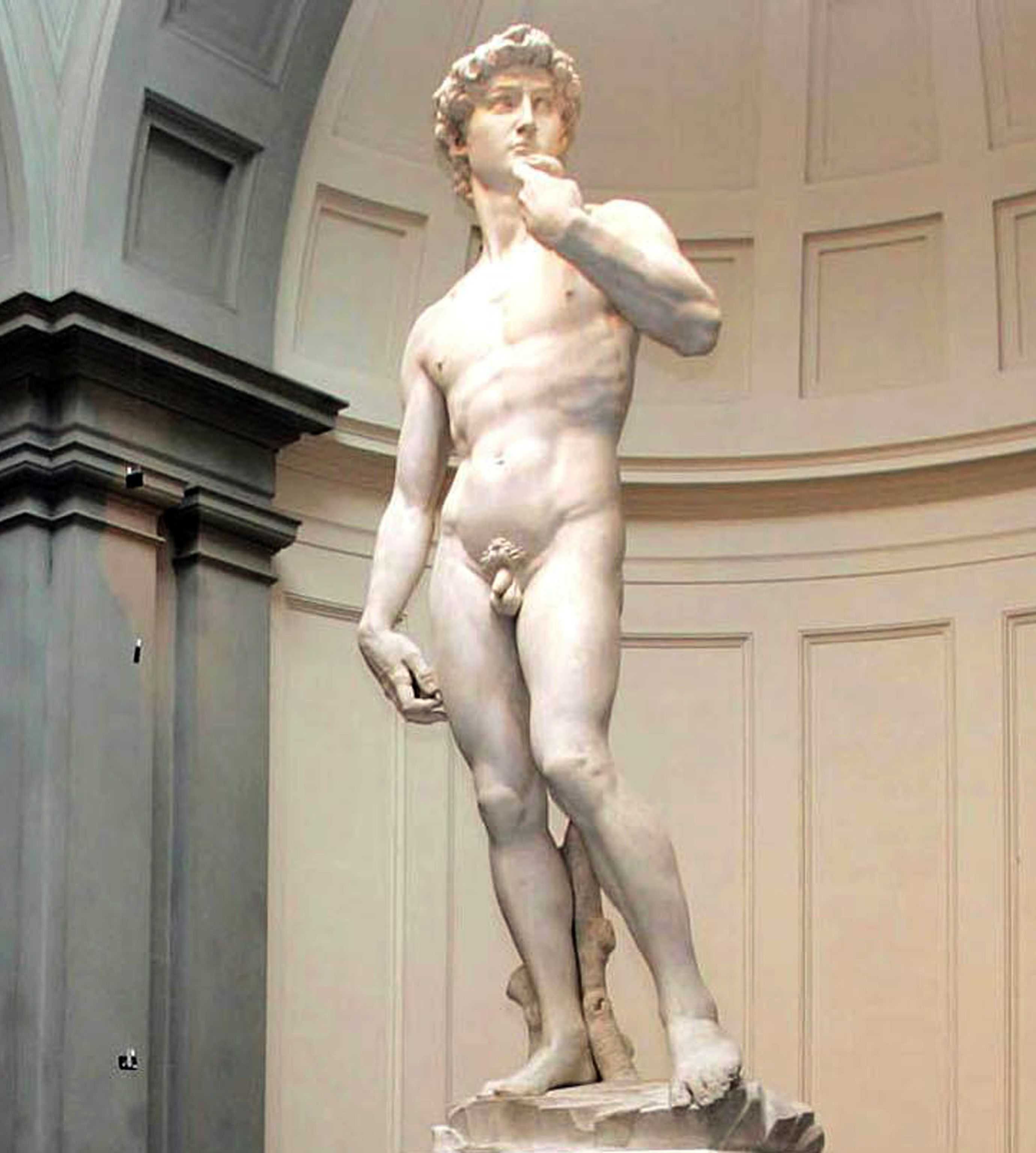 sculture di michelangelo david