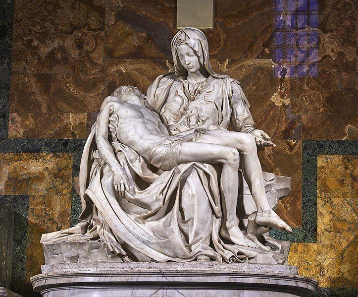 sculture di michelangelo pietà vaticana