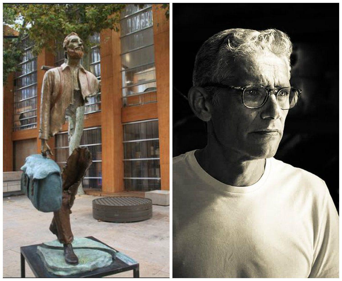 sculture strane the voyageur bruno catalano
